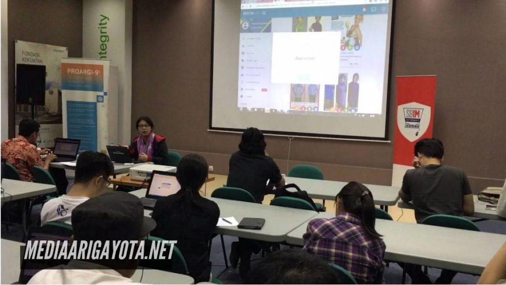Kelas Bisnis Online SB1M di Ciasmara Bogor